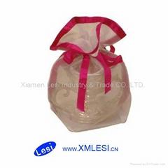 pvc/opp printing plastic gift bag