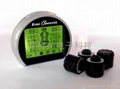EverSmiling无线胎压监测系统TPMS外置式双电源