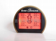 EverSmiling無線胎壓監測系統TPMS內置式雙電源