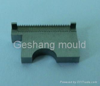 Precision mould part for electronics mould 1