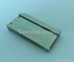 Precision mould part for household mould