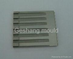 Precision mould part for medical mould