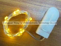 LED button battery copper wire string light WY-CG-008
