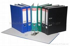 PVC economic lever arch file