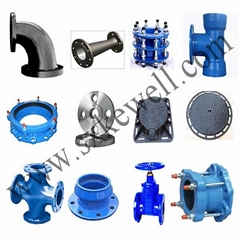 ductile iron socket pipe fittings