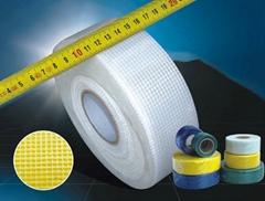 self-adhesive colered fiberglass mesh tape