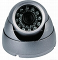 IR Vandalproof Dome Camera