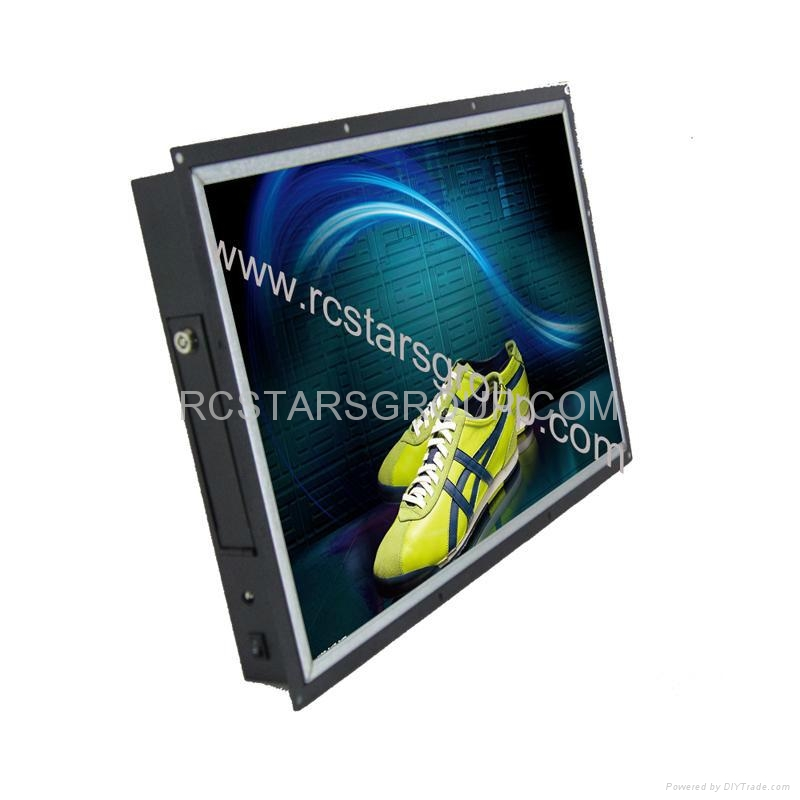 19Inch Open Frame LCD Advertising Player  1