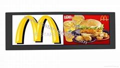 "15"" Split Screen LCD Advertising Player"