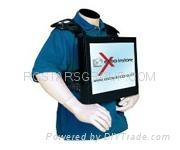 12.1Inch Backpack LCD AD Player 1