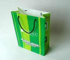 Paper packaging bag with high quality