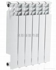 湖南省意斯暖高壓鑄鋁暖氣片散熱器
