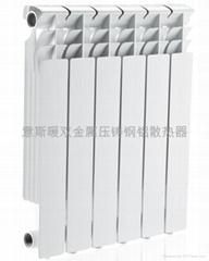 無錫意斯暖高壓鑄鋁散熱器
