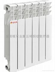貴州意斯暖高壓鑄鋁散熱器