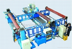 Pipe flange automatic welding equipment