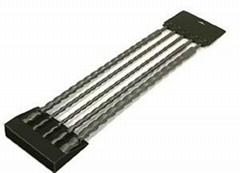 5pcs SDS Plus Drill Bits in Plastic Clips
