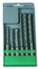 6pcs SDS Plus Drill Bits in Plastic Box