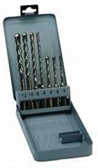 7pcs SDS Plus Drill Bits in Metal Box