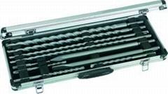 10pcs SDS Plus Drill Bits and Chisels Set