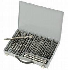 50pcs SDS Plus Drill Bits in Metal Box