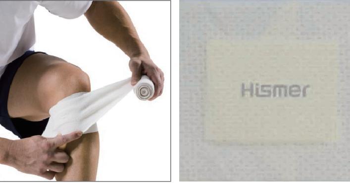 chitosan nonwoven fabrics Hismer pure chitosan fiber  2