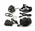 Xml T6 1000lumen LED Bike Light Headlamp 4