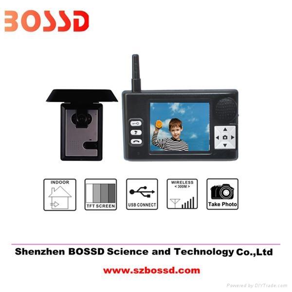 TFT LCD 3.5'' wireless intercom system camera 1