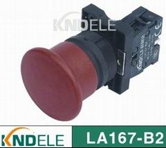 40mm 60mm Mushroom emergency stop push button switch ,plastic series XB2-EC