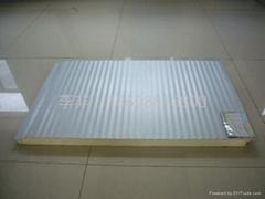 金属面小波纹聚氨酯夹心板