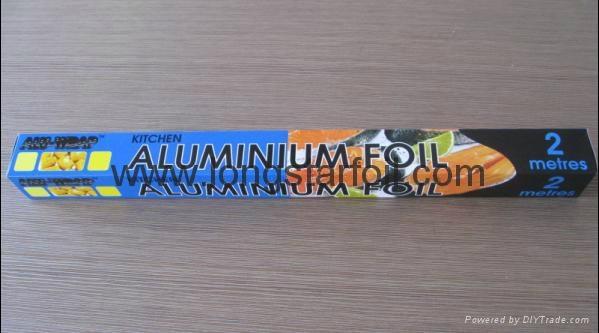 Household aluminium foil rolls 1