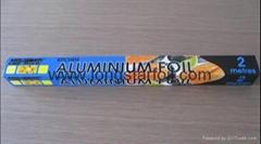 Household aluminium foil rolls