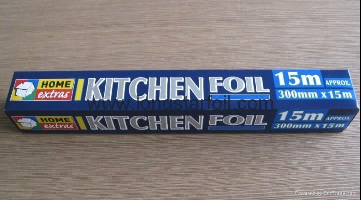 Household aluminium foil rolls 2