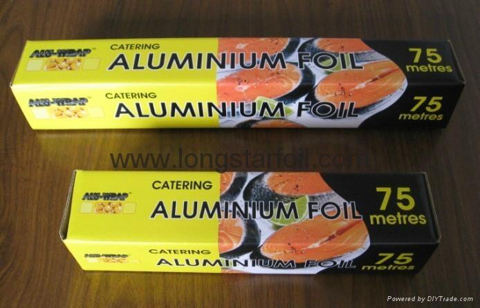 Household aluminium foil rolls for UK market 5
