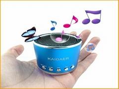 Mini speaker support FM radio Mirco sd card USB