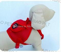 Dog backpack&leash