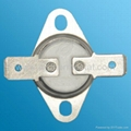 bimetal thermostat for appliance and
