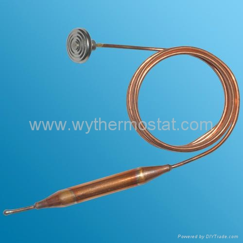 capillary thermostat for gas valve and water heater 2