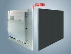 P6室內全彩壓鑄鋁LED顯示屏箱體尺寸480X480