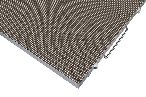 P6室內全彩壓鑄鋁LED顯示屏箱體尺寸480X480  3