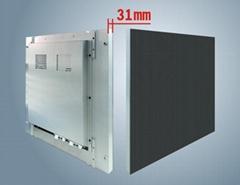 P5室內全彩壓鑄鋁LED顯示屏箱體尺寸480X480