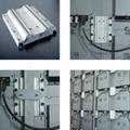 P5室內全彩壓鑄鋁LED顯示屏箱體尺寸480X480  2