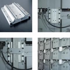 P5-1室內全彩壓鑄鋁LED顯示屏箱體尺寸480X480