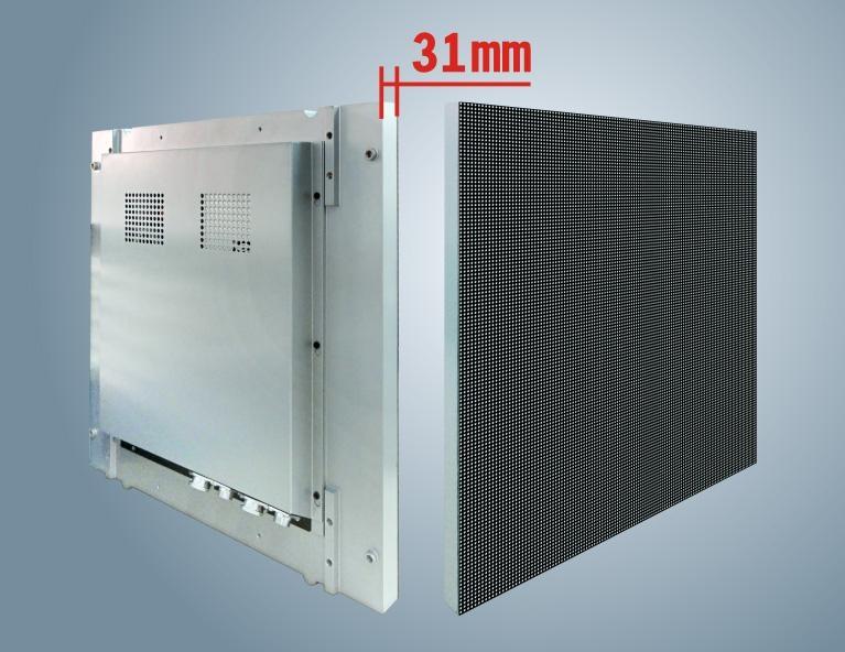 P6-1室內全彩壓鑄鋁LED顯示屏箱體尺寸480X480  3