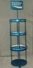 Beverage display rack