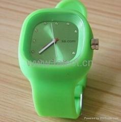 fashion digital silicon watch