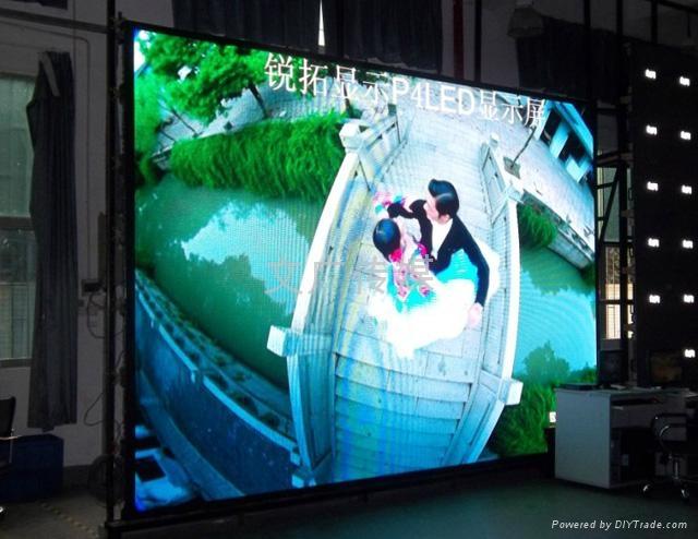 戶內LED顯示屏廣告 2