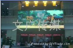 戶內LED顯示屏廣告 5