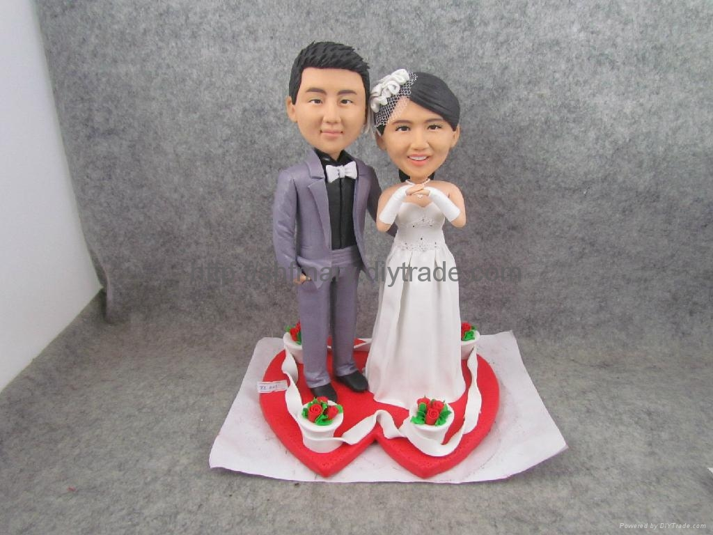 Wedding Gift,wedding supplier,Wedding souvenirs.DIY Bobble Head 1