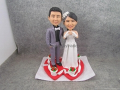 Wedding Gift,wedding supplier,Wedding souvenirs.DIY Bobble Head