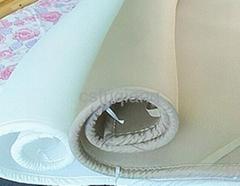 100%涤纶透气网眼床垫